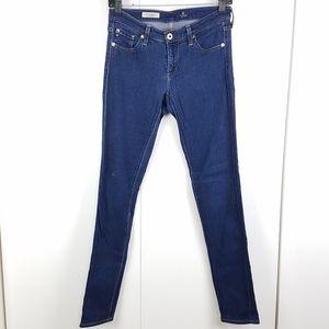 Ag The Legging Super Skinny dark wash jeans sz 27